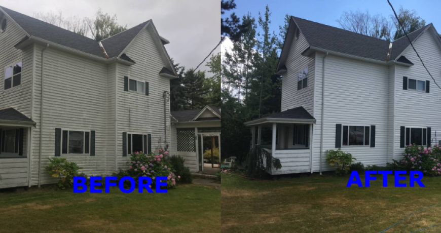SIDING CLEANING VANCOUVER BURNABY
