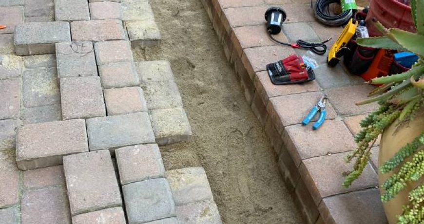 paving stone repair and new instalation vancouver heron home services