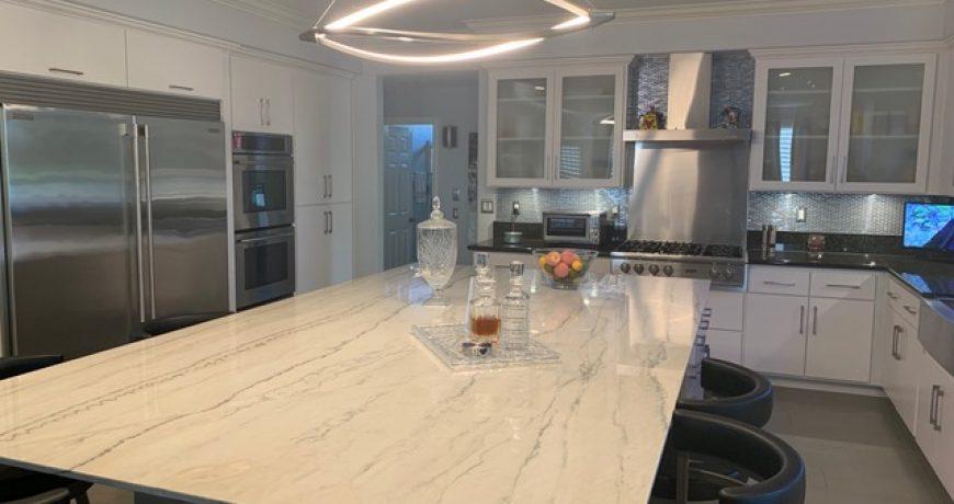 kitchen island installation vancouver